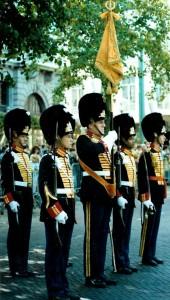 Vaandelwacht_van_het_Garde_Regiment_Grenadiers