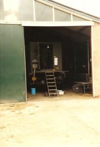 Grenadiers BHP viertonner in schuur 1988