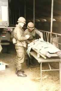 Grenadiers Kapitein-arts van BHP 11Painfbat Garde Grenadiers 1988