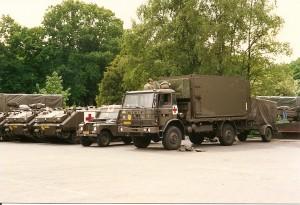 Grenadiers Opstelplaats BHP 11 painfbat. GG 1988