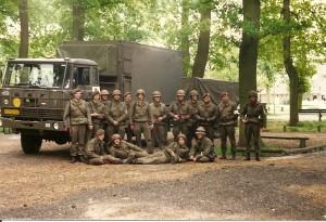 Grenadiers einde oefening geneeskundig peloton 11 painfbat. GG 1988