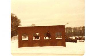 Hindernisbaan winter 1981-1982