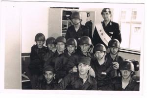 1968 A peloton met sergeant Zoethout