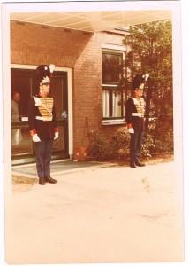 1968 Erewacht bij een Crematorium